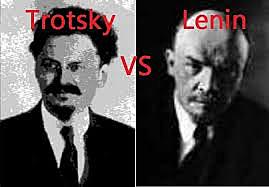 Lenin v Trotsky