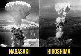 El llançament de les bombes atòmiques sobre Hiroshima i Nagasaki