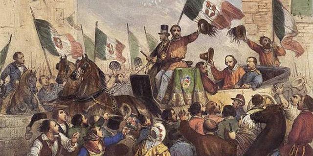Garibaldi entra a Napoli