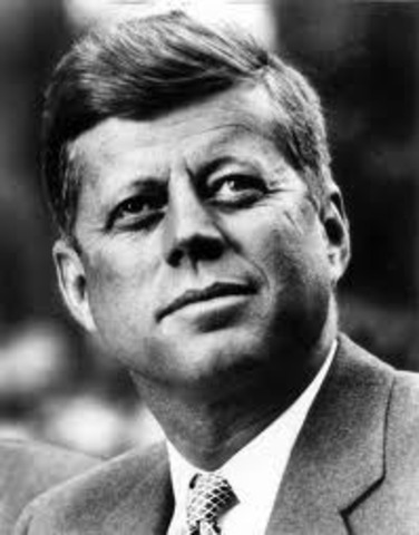 Kennedy almost gained the Democratic nomination for Vice President, and four years later was a first-ballot nominee for President. Millions watched his television debates with the Republican candidate, Richard M. Nixon. Winning by a narrow margin in the p