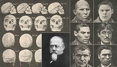 Anthropologie criminelle de LOMBROSO