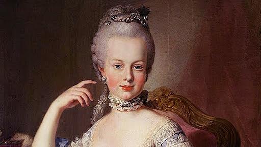 A execução de D. Luís XVI e Maria Antonieta