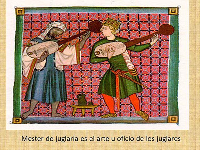 SIGLO XII MESTER DE JUGLARIA