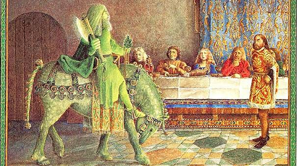 The courtly poem Sir Gawain and the Green Knight