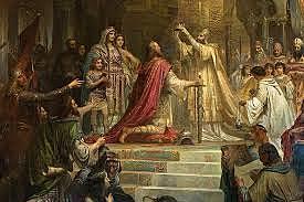 la coronación de carlomagno como emperador