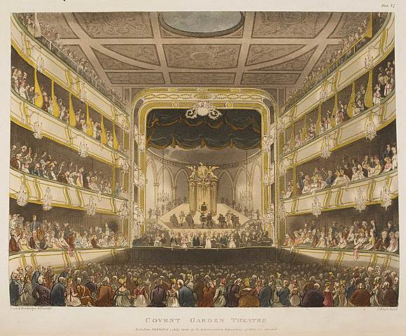 London's Covent Garden theatre