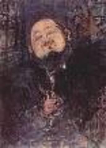 Diego Rivera was born