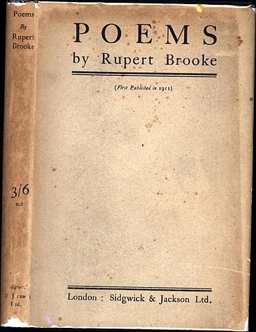 Rupert Brooke publishes Poems,
