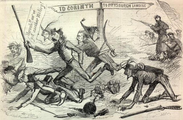 Battle of Shiloh Pittsburg Landing