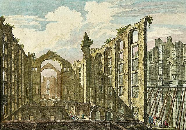 Terratrèmol va destruir grans palaus