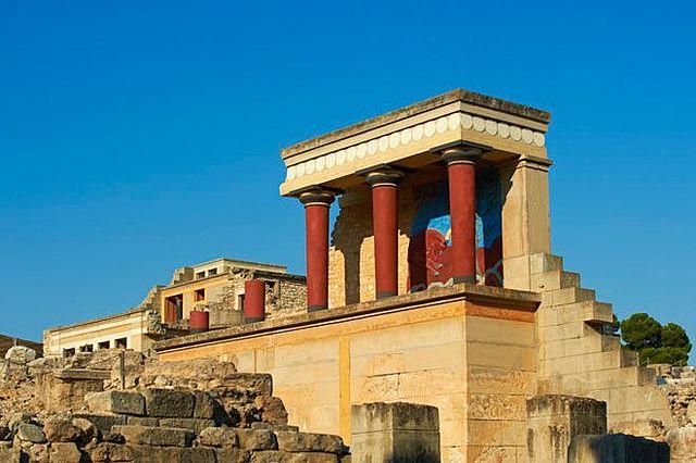 Terretrèmol va destruir grans palaus