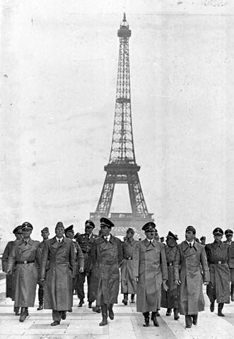 Arrivée des Allemands dans Paris