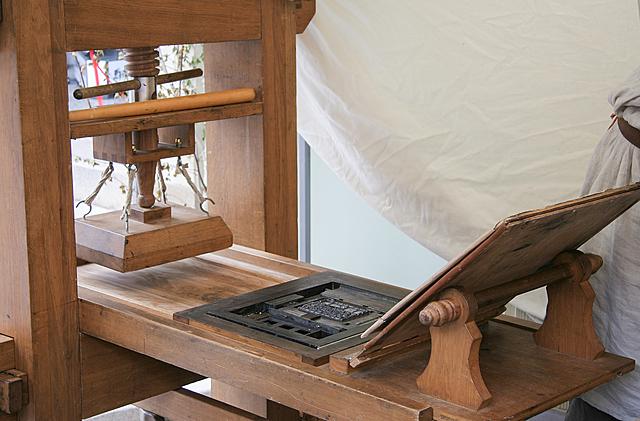 Konsten att trycka böcker