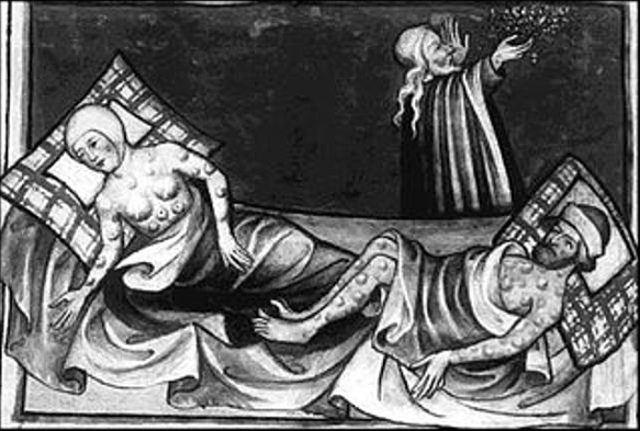 King Edward III's daughter dies of the plague
