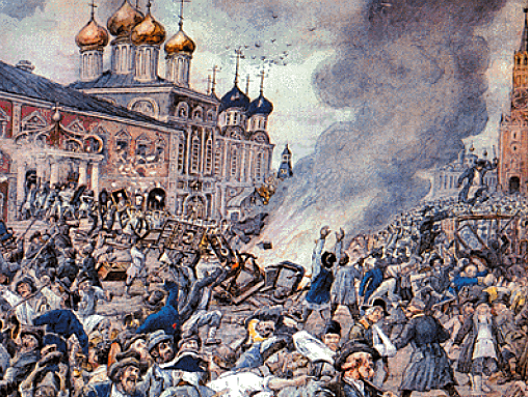 The Black Death reaches Moscow