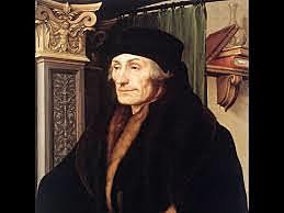 "Filosofo ""Erasmo de Rotterdam"" (1466-1536)"