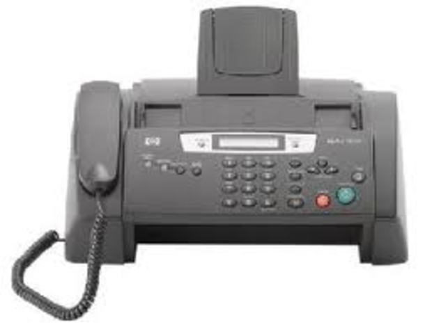 Utilizo por primera vez el fax
