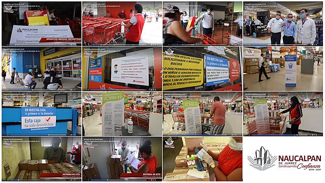 - Entrega de Kits Sanitizantes - Operativo supermercado covid