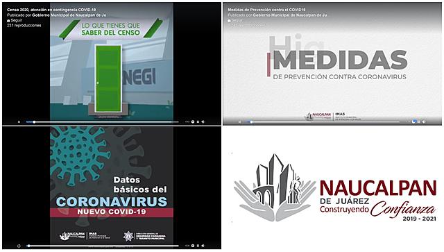 - Censo 2020, atención en contingencia COVID-19 - Medidas de Prevención contra el COVID19 - Datos básicos COVID19