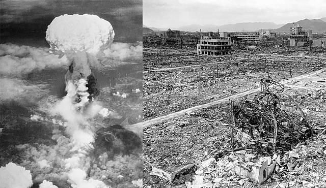 Bombes atòmiques sobre Hiroshima i Nagasaki