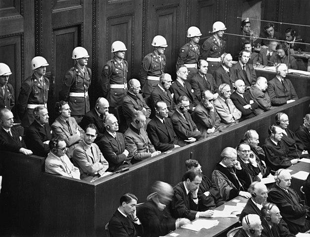 Judici de Nuremberg (20 de novembre de 1945-1 d'octubre de 1946)