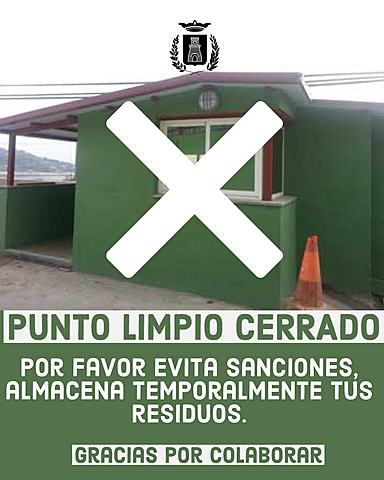 PUNTO LIMPIO CERRADO