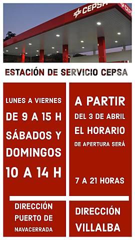 Estación de servicio Cepsa España