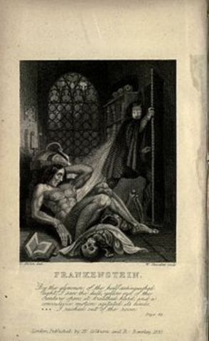 Frankestein o El moderno Prometeo – Mary Shelley