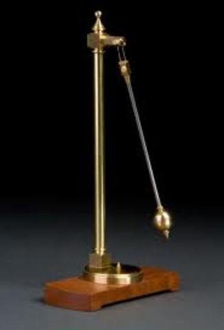 Galileo devised the law of the pendulum (Unknown Month)