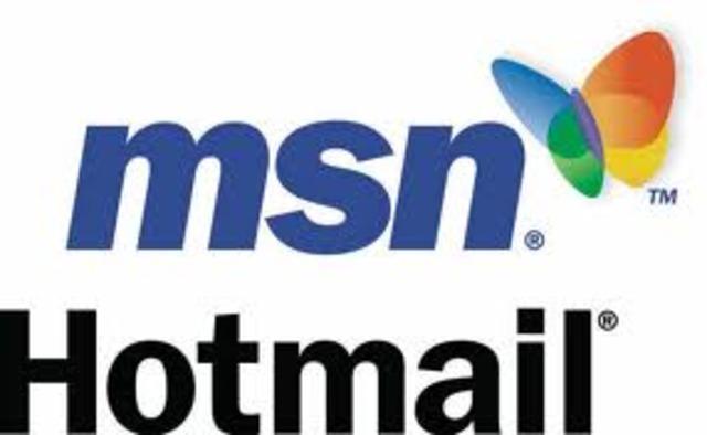 Me abrí mi primera cuenta en Hotmail