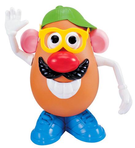 Mr Potato Head patented.
