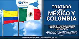 TRATADOS DE LIBRE COMERCIO VIGENTES EN COLOMBIA-MEXICO