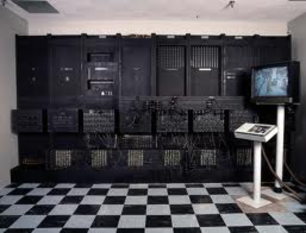 ENIAC the first super computer, is invented