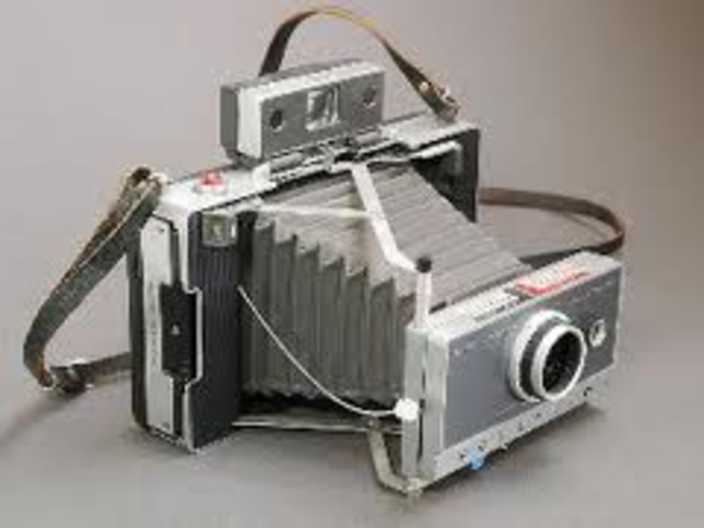 The self develpoing film camera was invented