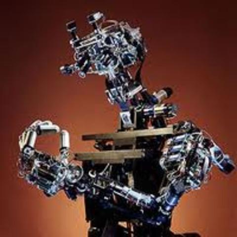 Arthur L. Samuel gives a demonstration of artificial intellegence