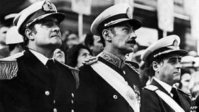Inicio de la dictadura Argentina