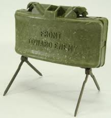 Normand Macleod begins work on the claymore mine