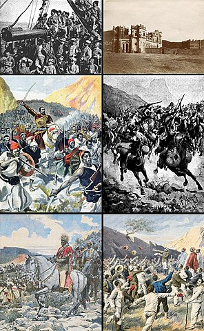 Failure of First Italo-Ethiopian War with the Battle of Adowa (Adwa