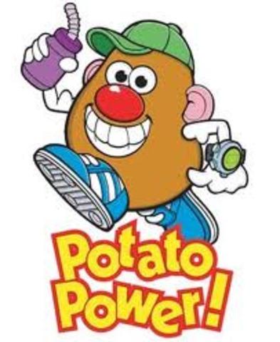 •Mr Potato Head patented