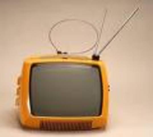 Mi primer televisor.