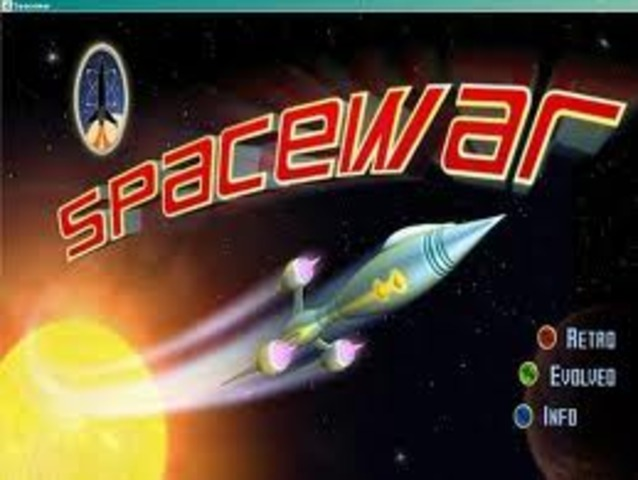 •Spacewar, the first computer video game invented