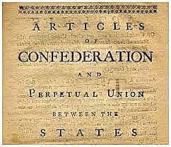 Articles of Confederation (social + political)