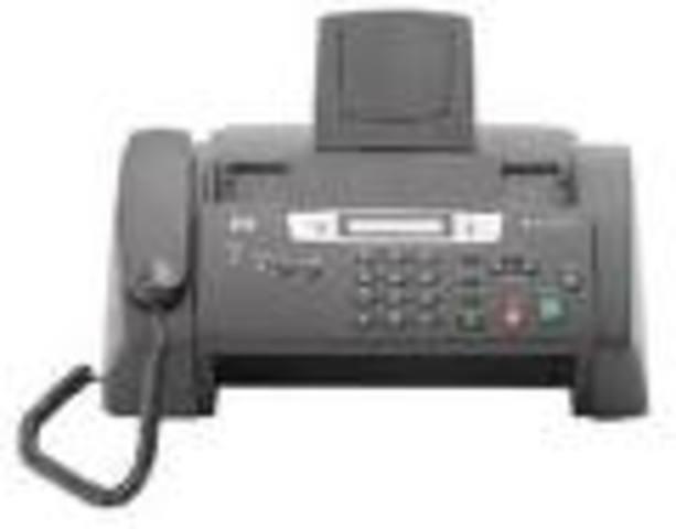 La magia del fax.