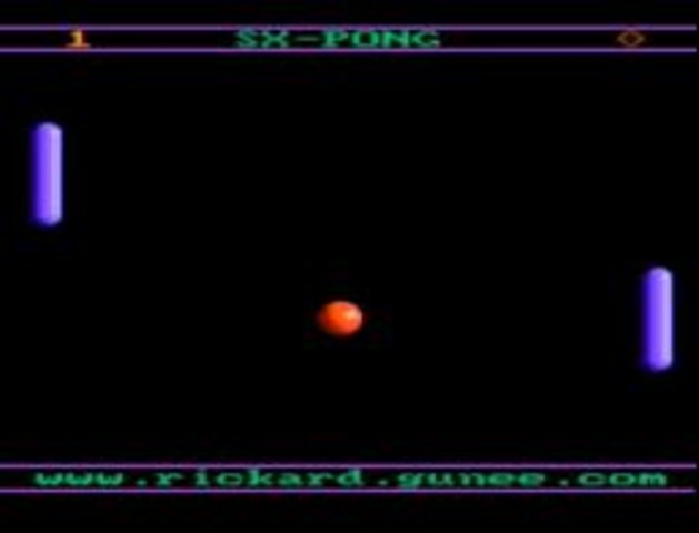 Pong first video game invented