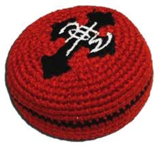 Hacky Sack invented