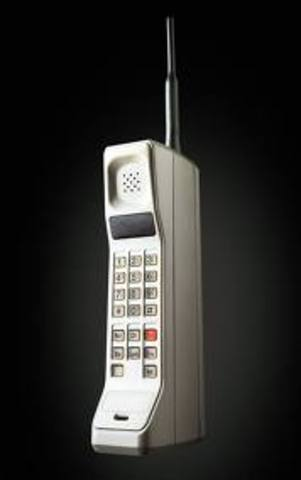 •Cell phones invented