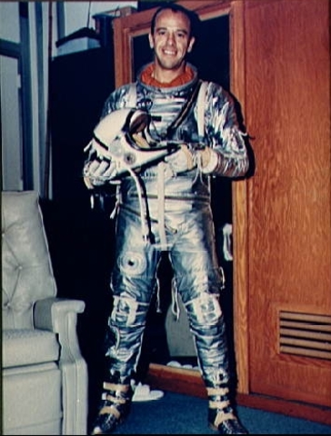 First U.S citizen into space