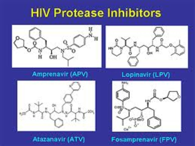 HIV protease inhibitor invented