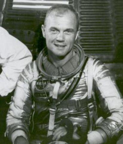 First U.S citizen to orbit Earth