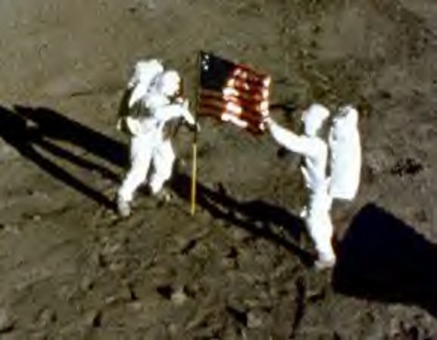 First people on the Moon